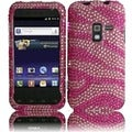 BasAcc Pink Zebra Diamond Case for the Samsung Galaxy Attain 4G R920