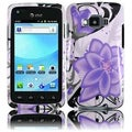 BasAcc Violet Lilly Case for Samsung Rugby Smart i847