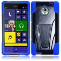 BasAcc Black/ Blue Case with Stand for HTC 8XT