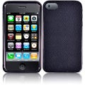 BasAcc Black Texture with Wavy Lines Case for Apple iPhone 4/ 4S