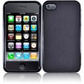 BasAcc Black with Dots Case for Apple iPhone 4/ 4S