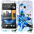 BasAcc Blue Splash Case for HTC One M7