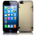 BasAcc Clear/ Black TPU Case with Point for Apple iPhone 5
