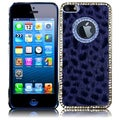 BasAcc Gray Leopard Executive Metal Diamond Case for Apple iPhone 5
