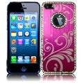BasAcc Hot Pink Executive Metal Diamond Case for Apple iPhone 5