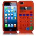 BasAcc Orange Calculator Silicone Case for Apple iPhone 5