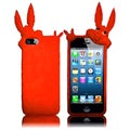 BasAcc Orange Rabbit Silicone Case for Apple iPhone 5