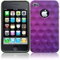 BasAcc Purple Executive Design Case for Apple iPhone 4/ 4S
