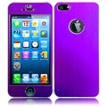 BasAcc Purple Metal Sticker for Apple iPhone 5
