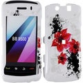 BasAcc Red Lily Case for Blackberry Storm 2 9550