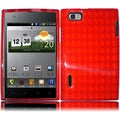 BasAcc Red TPU Case for LG Intuition VS950 Optimus VU