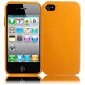 BasAcc White/ Orange TPU Case for Apple iPhone 4/ 4S