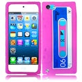 BasAcc Pink Cassette Silicone Case for Apple iPod touch 5