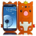 BasAcc Pig Case for Samsung Galaxy S3 i9300/ i747/ L710/