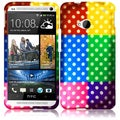 BasAcc Colorful Polka Case for HTC One M7