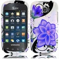 BasAcc Violet Lily Case for Samsung Galaxy Appeal i827
