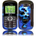 BasAcc Blue Skull Case for LG Octane VN530