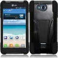 BasAcc Case with Stand for LG Spirit 4G MS870