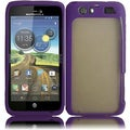 BasAcc Clear/ Purple TPU Case for Motorola Atrix 3/ MB886 Atrix HD
