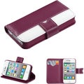 BasAcc Book-Style MyJacket Wallet Case for Apple iPhone 4/ 4S