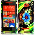 BasAcc Aqua Flower for HTC Windows Phone 8X/ 6990/ Zenith