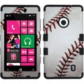 BasAcc Baseball-Sports Collection/ Black TUFF Case for Nokia 521 Lumia