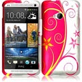 BasAcc Beauty Swirl Case for HTC One M7