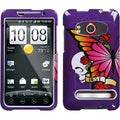 BasAcc Best Friend/ Purple Phone Case for HTC EVO 4G