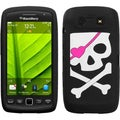 BasAcc Big Skull/Black Pastel Case for Blackberry Torch 9850/ 9860