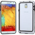 BasAcc Black/ Clear MyBumper Case for Samsung N900A Galaxy Note 3