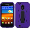 BasAcc Black/ Purple Symbiosis Stand Case for Samsung� Epic 4G Touch