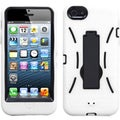 BasAcc Black/ White Symbiosis Stand Case for Apple� iPhone 5