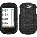 BasAcc Black/ Diamante Case for LG VS840 Lucid 4