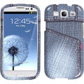 BasAcc Black Jeans/ Studs Case for Samsung Galaxy S III i747/ L710