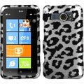 BasAcc Black/ Leopard/ 2D Silver Case for HTC Titan II