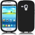 BasAcc Black Silicone Case for Samsung Galaxy S3 Mini i8190