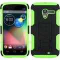 BasAcc Black/ Electric Green Case with Stand for Motorola Moto X