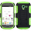 BasAcc Black/ Green Case with Stand for Samsung Galaxy T599 Exhibit
