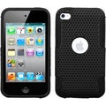 BasAcc Black/ Black Astronoot Case for Apple iPod touch 4