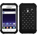 BasAcc Black Luxurious Lattice Case for Samsung R820 Galaxy Admire 4G
