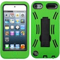 BasAcc Black/ Green Symbiosis Stand Case for Apple iPod touch 5