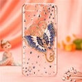 BasAcc Blue Butterfly Crystal 3D Diamante Case for Apple iPhone 5/ 5S