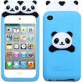 BasAcc Blue Peeking Panda Pastel Skin Case for Apple� iPod touch 4