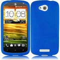BasAcc Blue Silicone Case for HTC One VX