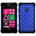 BasAcc Blue/ Black TotalDefense Case for Nokia Lumia 520/ 521