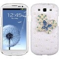 BasAcc Blue Dot/ Butterfly/ Pearl Diamante Case for Samsung Galaxy S3