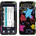 BasAcc Chalkboard Star/ Black Phone Case for LG VS750 Fathom
