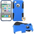 BasAcc Dark Blue/ Black Frosted Fusion Case for Apple� iPhone 4/ 4S