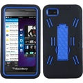 BasAcc Dark Blue/ Black Symbiosis Stand Case for Blackberry Z10
