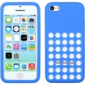 BasAcc Dark Blue with Holes Solid Skin Case for Apple iPhone 5C